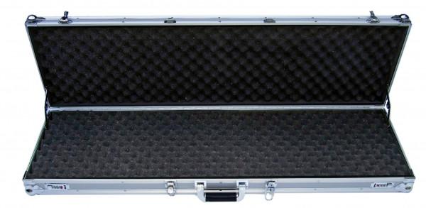 Waffenkoffer für kombinierte Waffen 113x31x12cm silber 7012